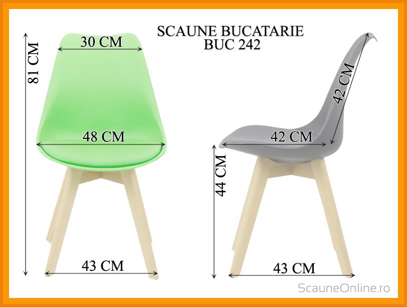 Dimensiuni Scaun living BUC 242