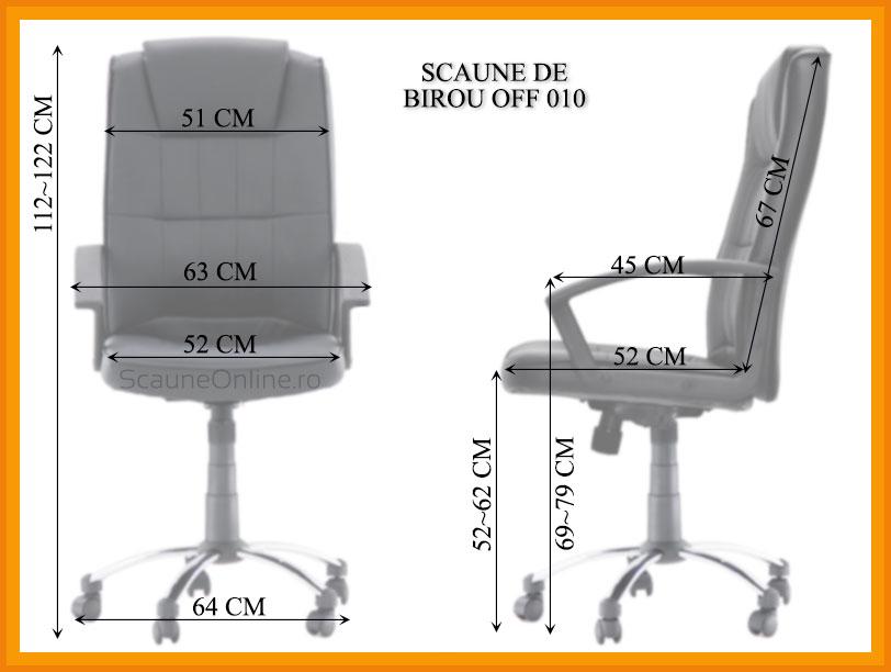 Dimensiuni scaune birou OFF 010