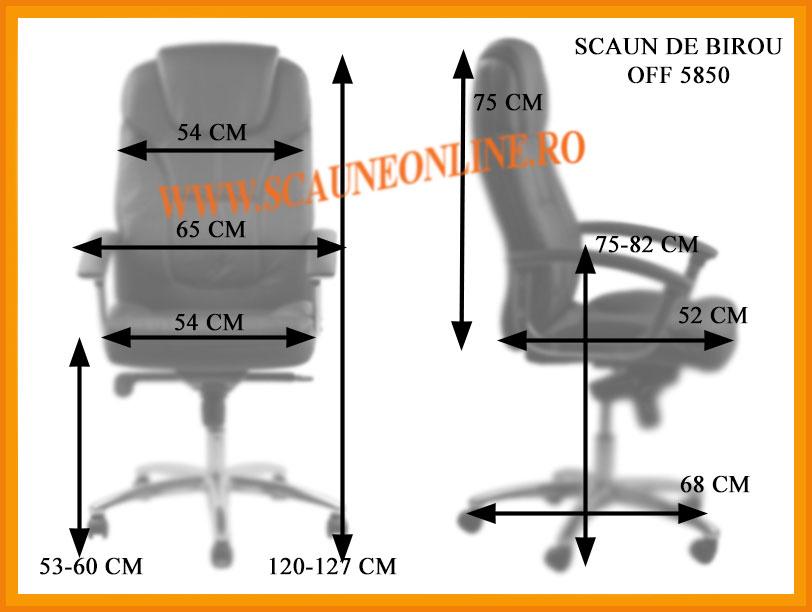 Dimensiuni scaune birou OFF 5850