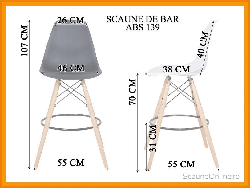 Scaun de bar ABS 139