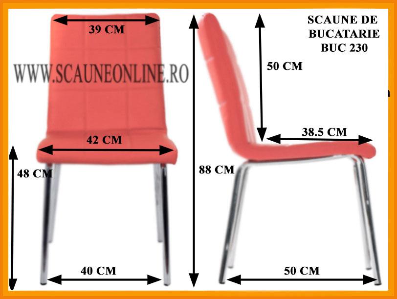 Dimensiuni scaune bucatarie BUC 230