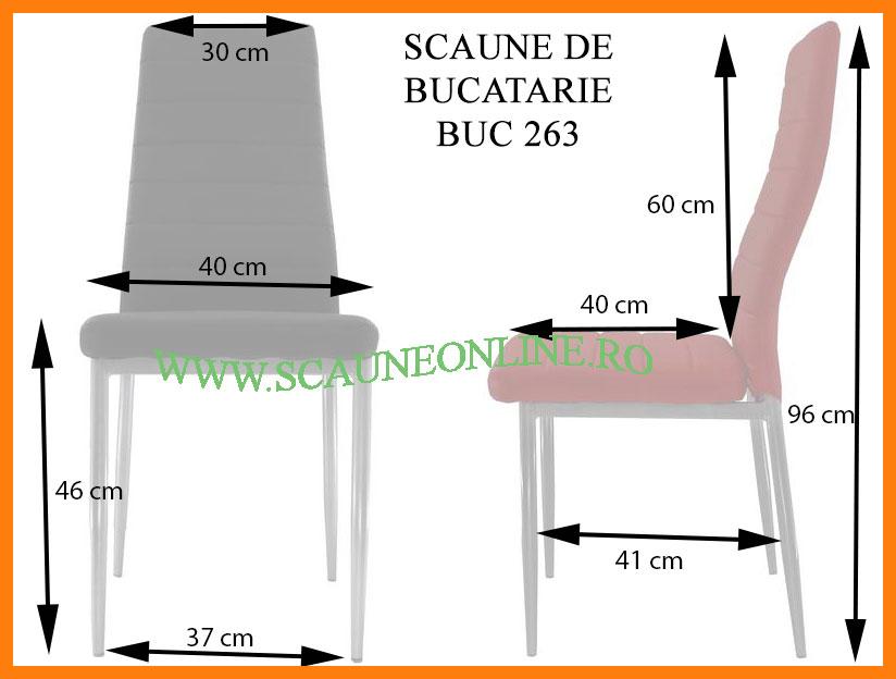 dimensiuni scaune bucatarie BUC 263