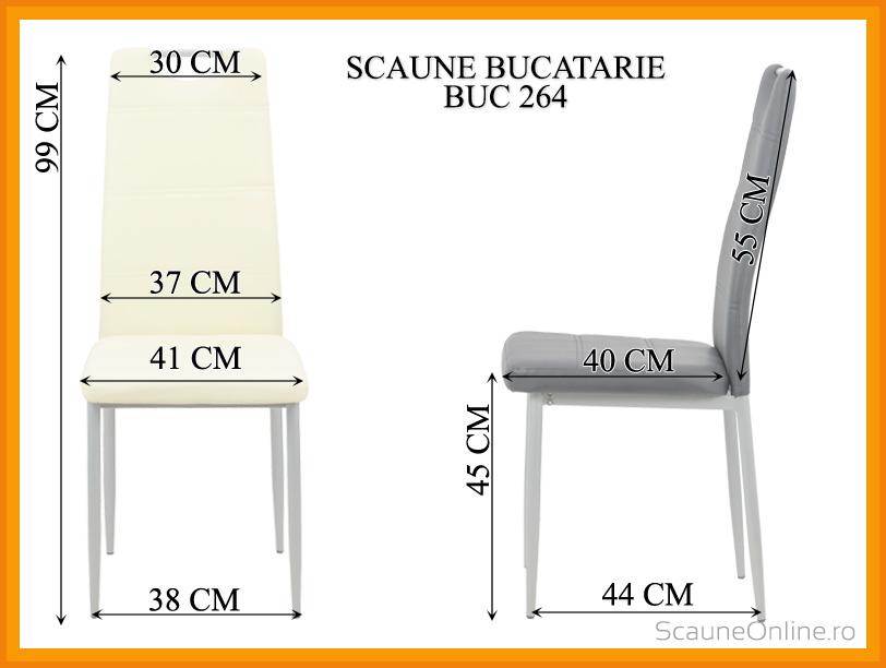 Dimensiuni Scaun  BUC 264