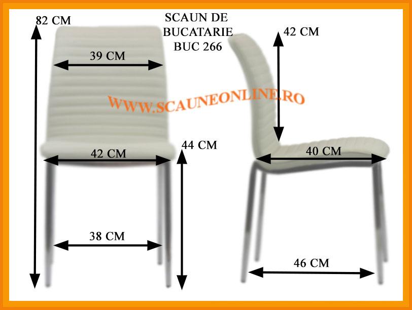 Dimensiuni scaune bucatarie BUC 266
