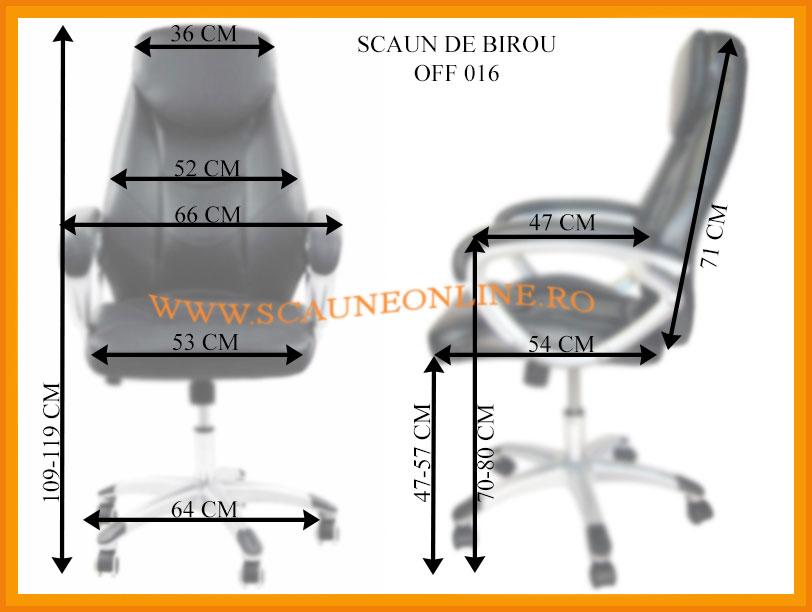Dimensiuni scaune birou OFF 016