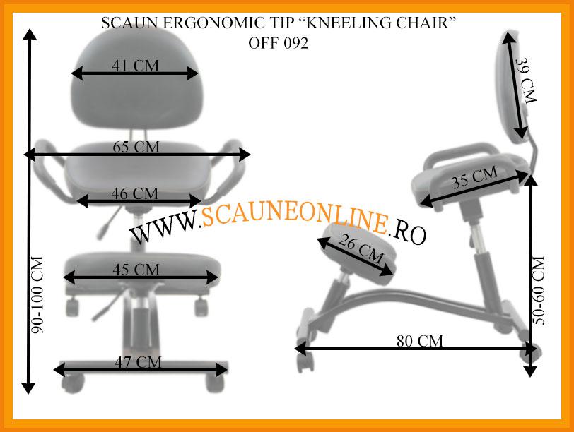 Dimensiuni Scaun kneeling chair OFF 092