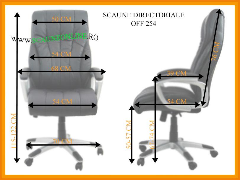 Dimensiuni Scaune directoriale OFF 254