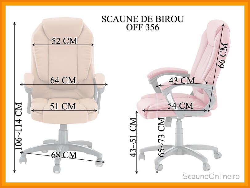 Scaune ergonomice OFF 356