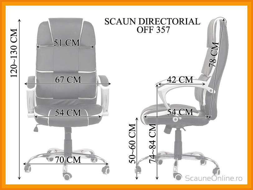 Scaun directorial OFF 357