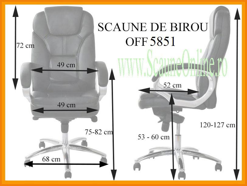 Dimensiuni scaune birou OFF 5851