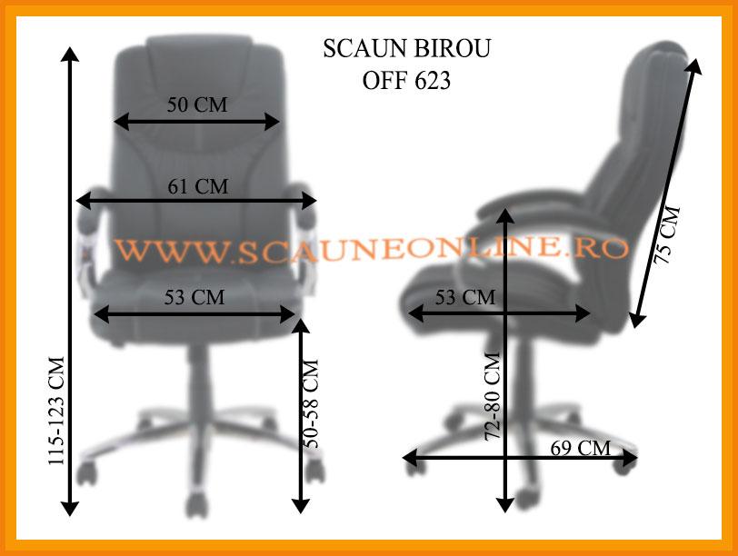 Dimensiuni scaune birou OFF 623