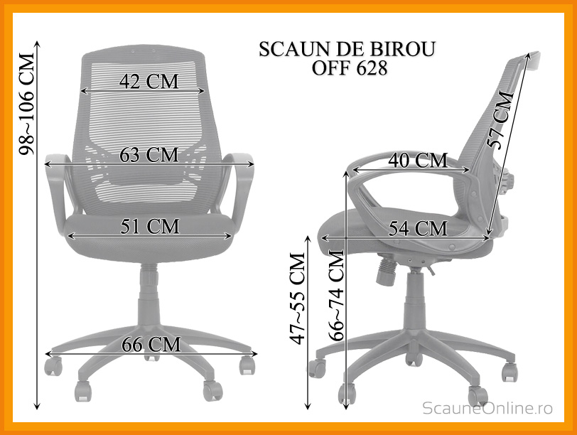 Scaun de birou OFF 628