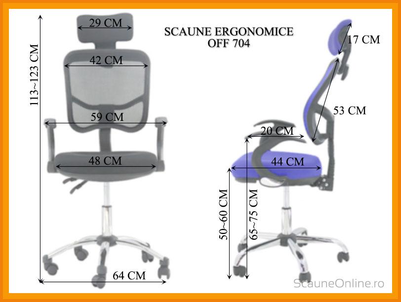 Scaune birou OFF 704
