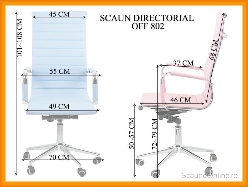 Dimensiuni scaune directoriale OFF 802