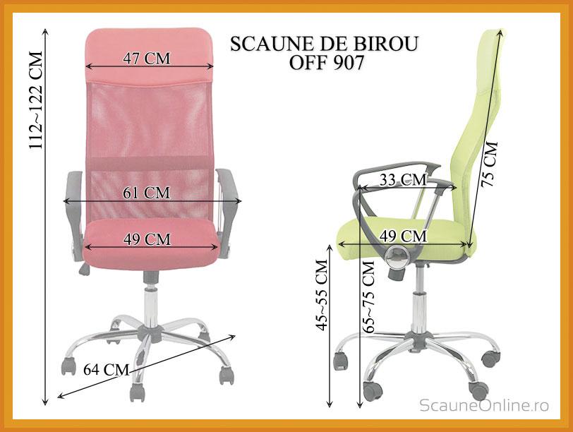 Scaune birou OFF 907