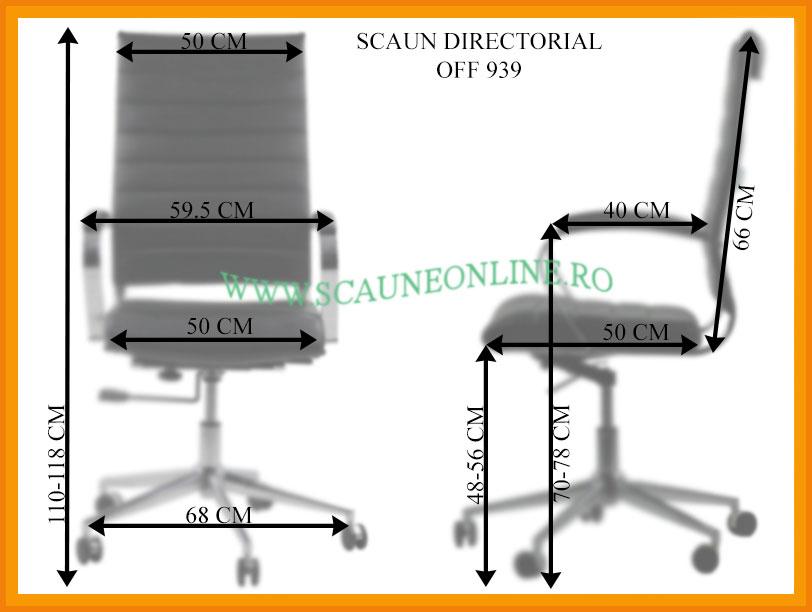 Dimensiuni scaune birou OFF 939