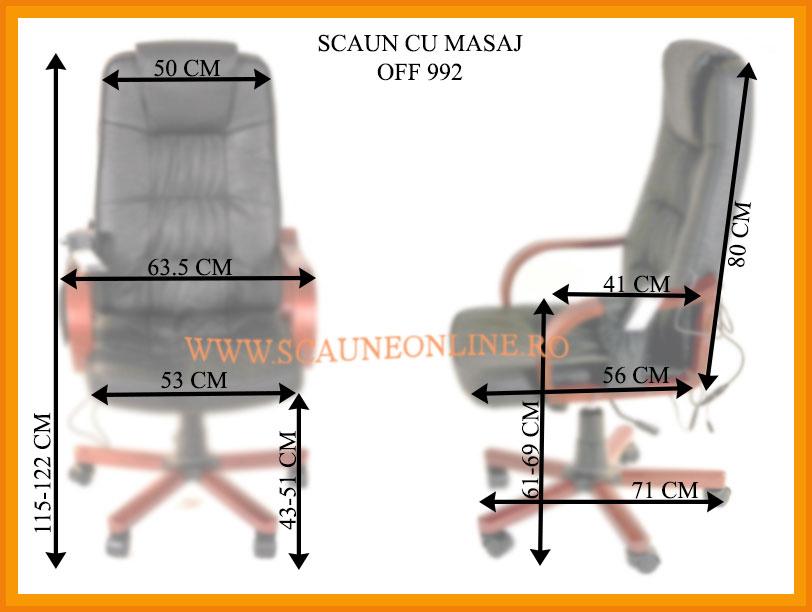Dimensiuni scaune birou OFF 992