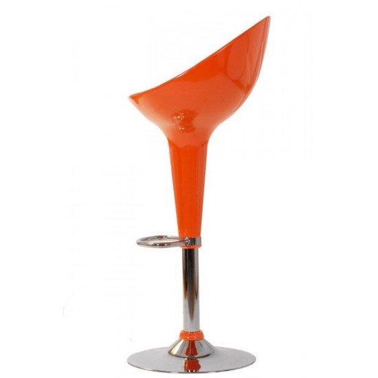 Scaun de bar ABS 105 portocaliu