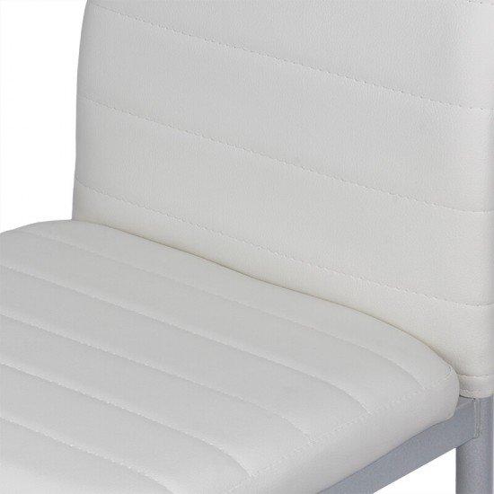 Scaune de bucatarie BUC 263 alb