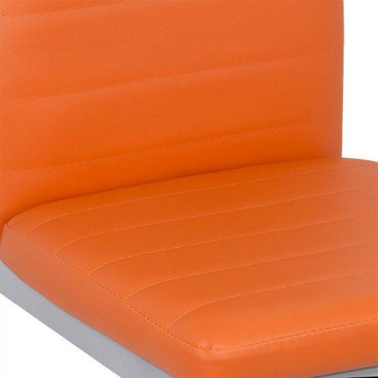 Scaune de bucatarie BUC 263 portocaliu
