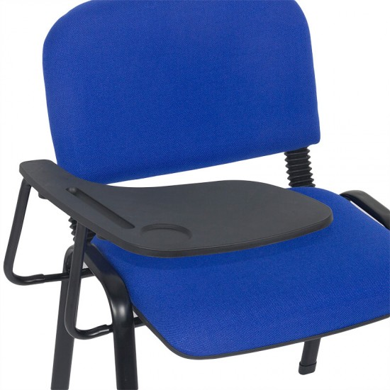 Scaune conferinta cu masuta rabatabila HRC 606 albastru