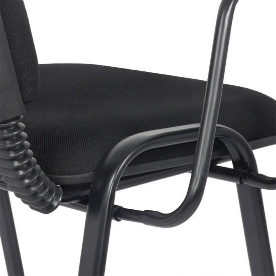 Scaune conferinta cu masuta rabatabila HRC 606 negru