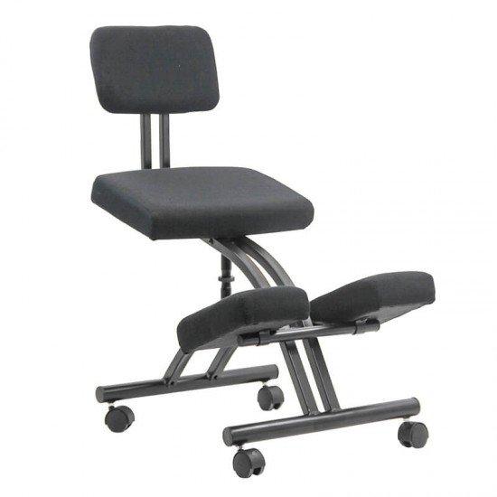 Scaun birou tip kneeling chair OFF 094 negru
