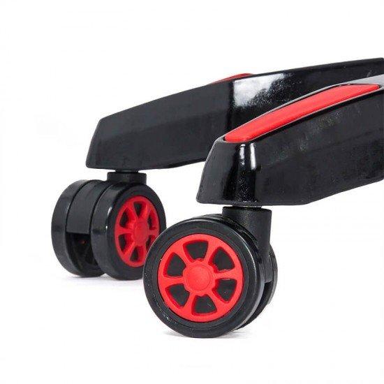 Scaun gaming cu spatar rabatabil OFF 306 rosu