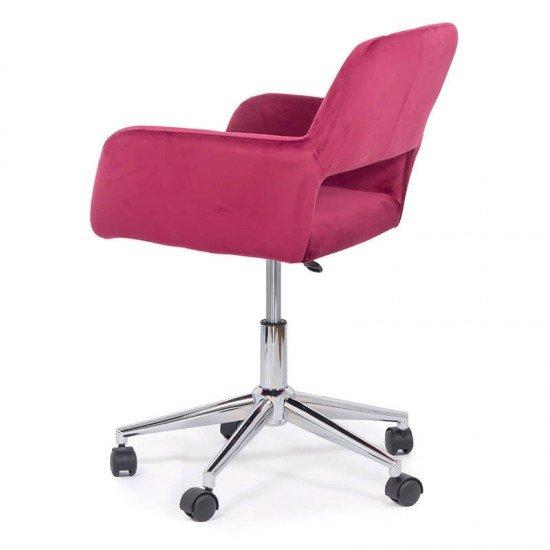Scaun de birou OFF 380 rosu