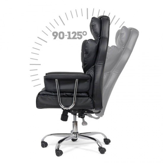 Scaun de birou directorial OFF 413 negru