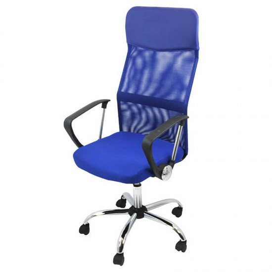 Scaun de birou OFF 907-albastru