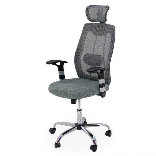 Scaun ergonomic de birou OFF 988 gri