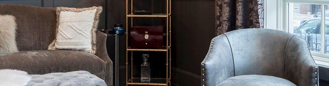 Stilul glamour in designul interior: mobila, culori, caracteristici