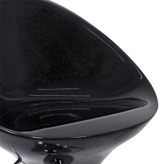 Scaun de bar ABS 105 negru