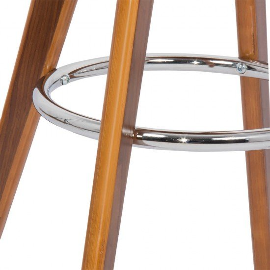 Scaun de bar din lemn ABS 128