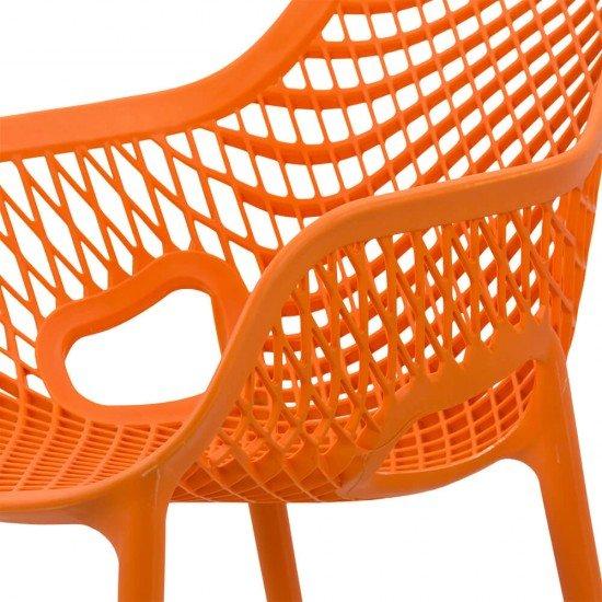 Scaun terasa HRC 595 portocaliu