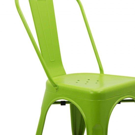 Scaun metalic stivuibil HRC 597 verde