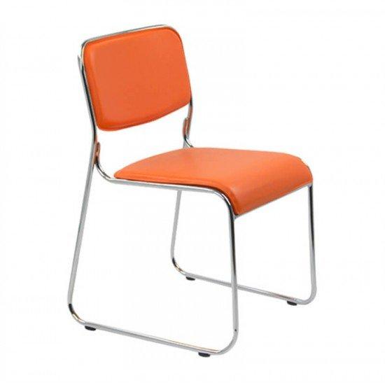 Scaune de conferinta HRC 604 portocalii