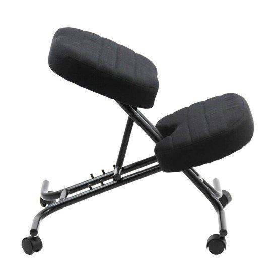 Scaun birou tip kneeling chair OFF093 negru
