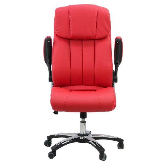 Scaun ergonomic de birou OFF 317 rosu