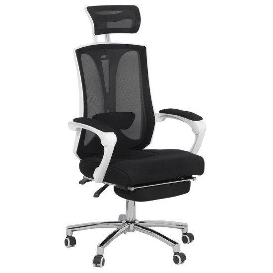 Scaun de birou ergonomic cu suport de picioare OFF 420 negru