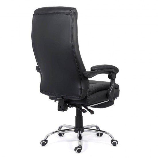 Scaun directorial cu suport de picioare OFF 425 negru
