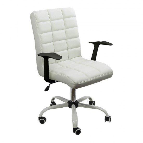 Scaun birou OFF 603 alb