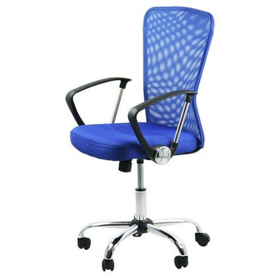 Scaune birou OFF622-albastru
