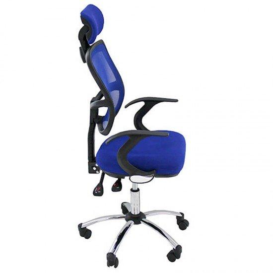Scaune ergonomice birou OFF 704 albastru