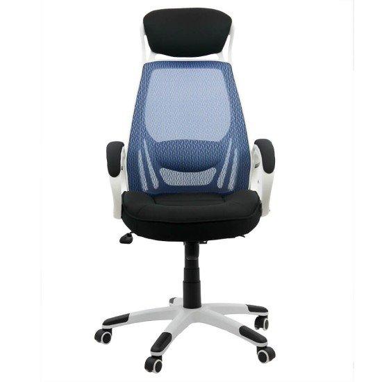 Scaun ergonomic OFF 912 albastru