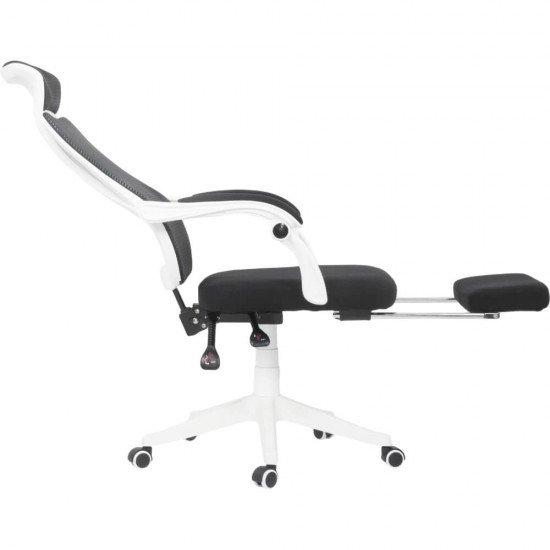 Scaun de birou ergonomic OFF 927 alb