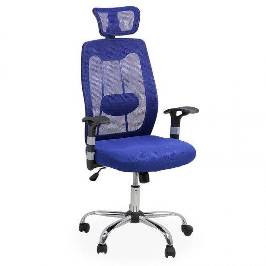 Scaun ergonomic de birou OFF 988 albastru