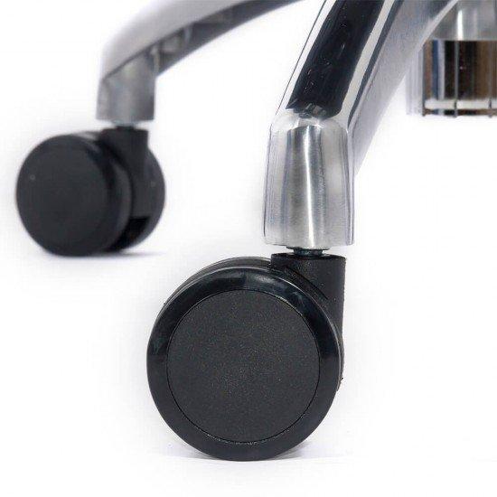 Scaun ergonomic multifunctional SYYT 9500 negru cu brate reglabile si sezut culisabil