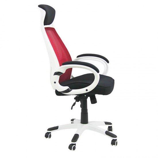 Scaun ergonomic OFF 912 rosu